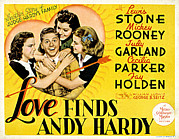 Posth Posters - Love Finds Andy Hardy, Judy Garland Poster by Everett