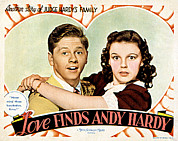 Posth Photos - Love Finds Andy Hardy, Mickey Rooney by Everett