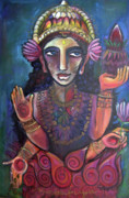 Lakshmi Framed Prints - Love for Lakshmi Framed Print by Laurie Maves