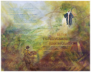 Rulers Prints - Love Forgiveness Reconciliation Print by Judy Dodds