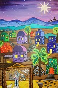 Love In The City Of David Print by Stephanie Temple