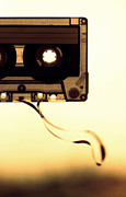 Damaged Prints - Love Is A Mixed Tape Print by Taryn