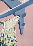Boeing Paintings - Love is in the Air by Florian Divi