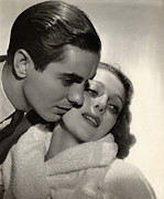 Hairstyles Posters - Love Is News, Tyrone Power, Loretta Poster by Everett