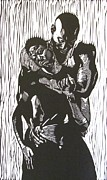 African-american Reliefs - Love Is by Sabrina McGowens
