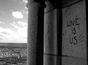 Sacre Coeur Art - Love Is Us by Rdr Creative