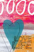 Love Life Print by Linda Woods