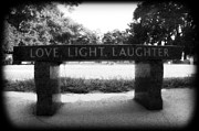 Grave Yard Framed Prints - Love Light Laughter Framed Print by Mandy Shupp
