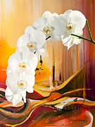 Flowers Paintings - Love Light by Michelle Wiarda