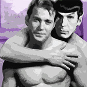 Captain Kirk Originals - Love Long and Prosper by Robert Wegmann