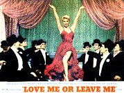 Love Me Or Leave Me Posters - Love Me Or Leave Me, Doris Day, 1955 Poster by Everett