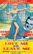 1955 Movies Art - Love Me or Leave Me by Nomad Art and  Design