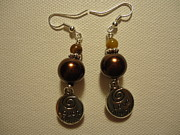 Dangle Jewelry - Love Much Laugh Often Earrings by Jenna Green