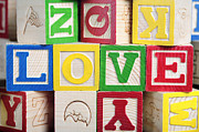 Love Print by Neil Overy