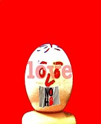 Gay Digital Art Originals - Love No H8 by Ricky Sencion