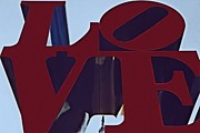 Love Sculpture Framed Prints - Love Philly Framed Print by DJ Florek