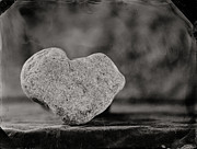 Tintype Prints - Love Rocks  v2 Print by Chris Morgan