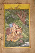 Ravi Art - Love Scene Of Sri Radha And Krishna by Rohit  Sharma