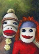 Leah Saulnier The Painting Maniac - Love Socks