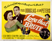 Posth Photos - Love That Brute, Jean Peters, Paul by Everett