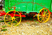 Hay Wagon Prints - Love to go round Print by Toni Hopper