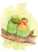 Catherine Basten - Lovebirds