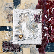 Silver Mixed Media Posters - Lovebox Poster by Viaina