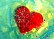 Bubbly Posters - Love...by Michelle Poster by Michelle Billetta