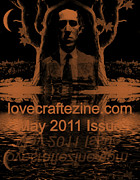 Lovecraft Prints - Lovecraftzine Coverpage May Print by Mimulux patricia no  