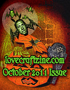 Lovecraft Prints - lovecraftzine OCTOBER issue Print by Mimulux patricia no  