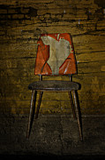 Winter Prints Photo Prints - Loved Seat Print by Larysa Luciw