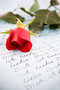 Write Prints - Loveletter Print by Kati Molin