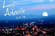 First Lady Digital Art Prints - Lovely Asheville Print by Ray Mapp