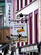 Irish Photo Prints - Lovely Day for a Guinness Macroom Ireland Print by Teresa Mucha