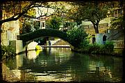 Canal Photo Originals - Lovely Day in the Riverwalk by Iris Greenwell