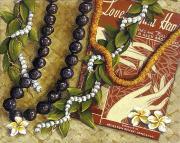 Lovely Hula Hands Print by Sandra Blazel - Printscapes