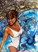 Anne-D Mejaki - Art About You productions - Lovely Lady Commission