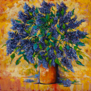 Lavender Originals - Lovely Lilacs by Mary DuCharme