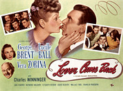 Posth Posters - Lover Come Back, Lucille Ball, George Poster by Everett
