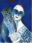 Nancy Denommee - Lovers in Blue
