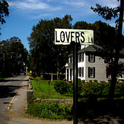 Duxbury Posters - Lovers Lane Poster by Tamma Murphy
