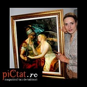 Peisaj Paintings - Lovers www.pictat.ro by Preda Bianca