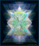 Intellect Digital Art Framed Prints - Loves Chalice from the Druid Tree of Life Framed Print by Christopher Pringer
