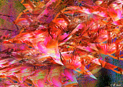 Loves Whirlwind Print by Michael Durst