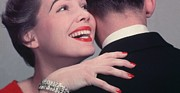 Diamond Bracelet Posters - Loving Embrace Poster by Hulton Collection