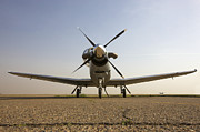 Airfield Prints - Low Angle View Of An Iraqi Air Force Print by Terry Moore