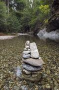 Cairns Prints - Low Clear Water On The Big Sur River Print by Rich Reid