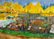 Antiques Paintings - Low Maintenance Vehicles II by Bud Bullivant