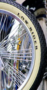 Lowrider Framed Prints - Low Rider and Silver Spokes Framed Print by Tam Graff