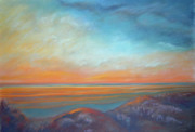Evening Sky Pastels - Low Tide by Addie Hocynec